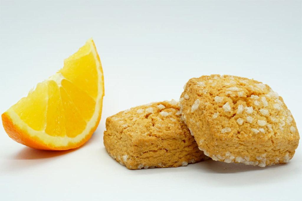 Canistrelli à l'orange