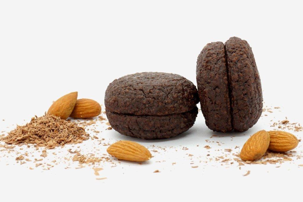 Macaron pure amande chocolat