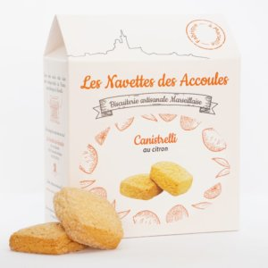 Canistrelli Citron - boite cartonnée