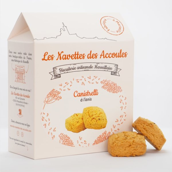 Canistrelli Anis - boite cartonnée