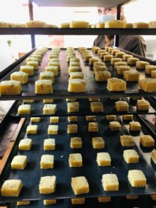 biscuits corses - Fabrication