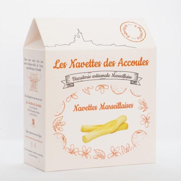 Navettes Marseillaises - boite cartonnée 500g